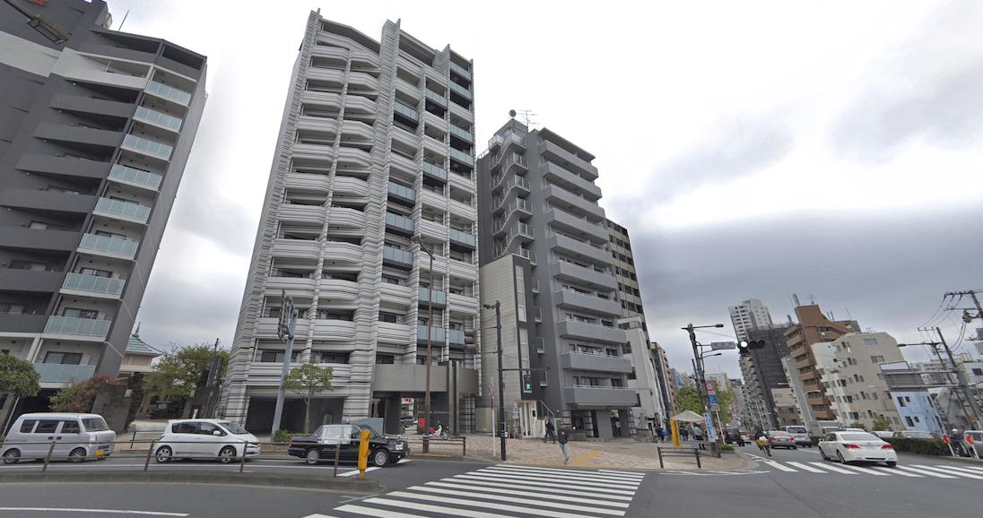 プレールドゥーク東新宿Ⅲの立地