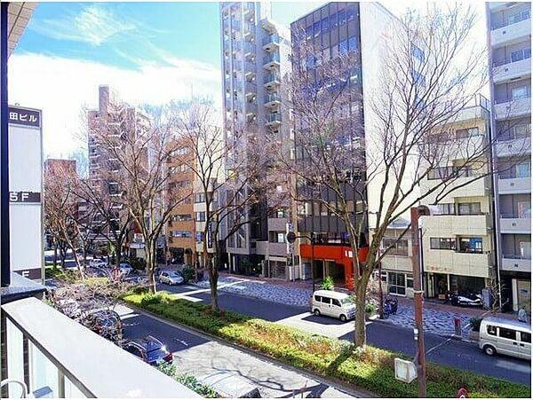 オープンレジデンシア神楽坂並木通りの眺望
