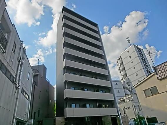 ハーモニーレジデンス早稲田の外観