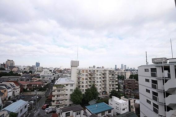 ハーモニーレジデンス早稲田の眺望