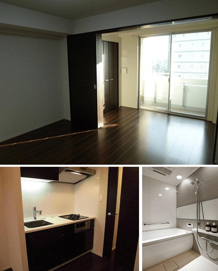 シティインデックス新宿若松町の室内