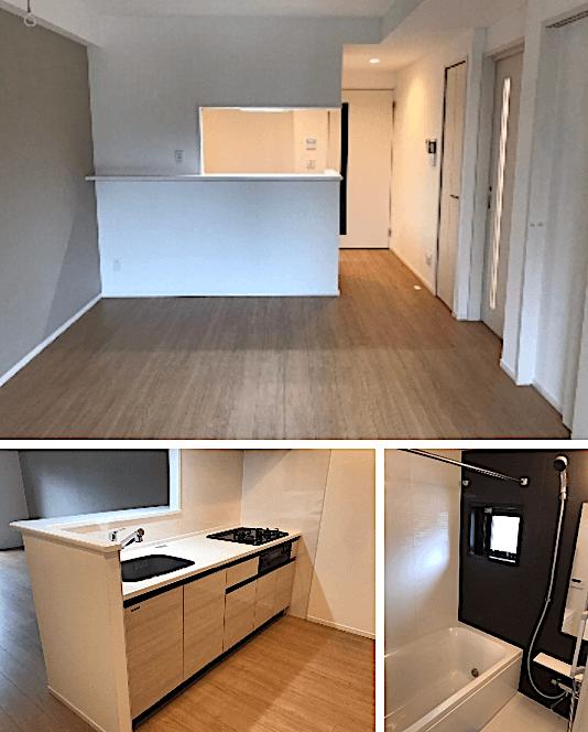 D-room早稲田の室内(2LDK)