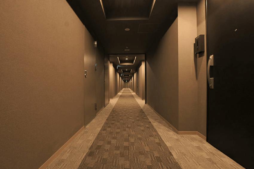 びゅうリエットグラン新宿戸山の内廊下