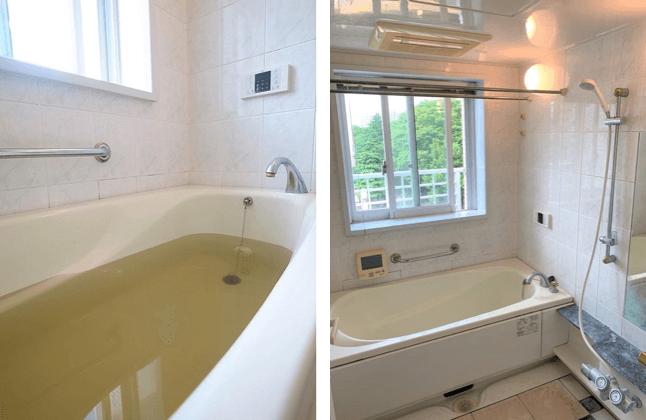 APAガーデンズ新宿戸山公園の温泉と浴室
