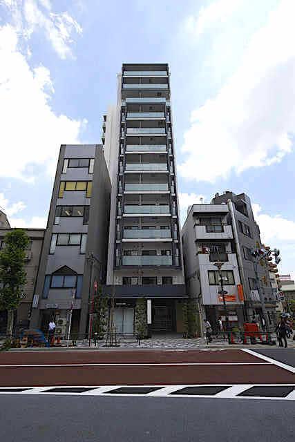 コンフォリア西早稲田の外観