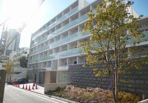 ガーデン東新宿の外観