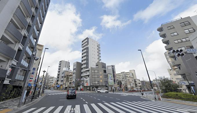 コンフォリア西早稲田の周辺環境