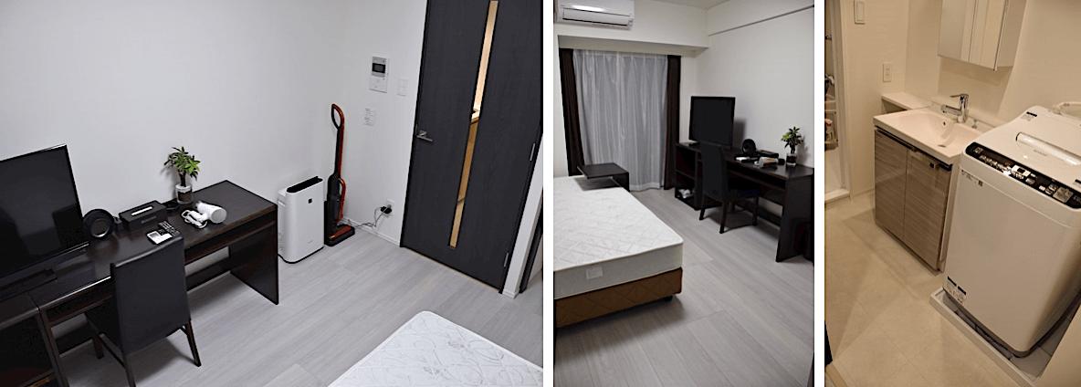 ディアレイシャス市谷薬王寺の家具家電付きの部屋