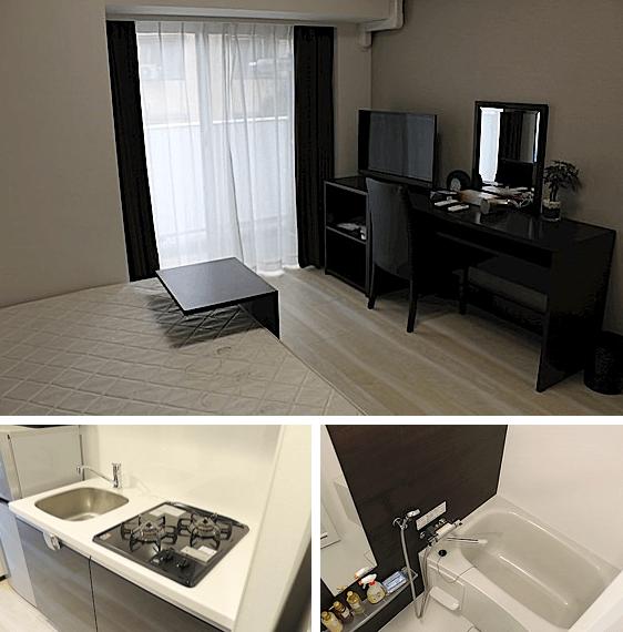 ジェノヴィア新宿早稲田グリーンヴェールの室内(1K)