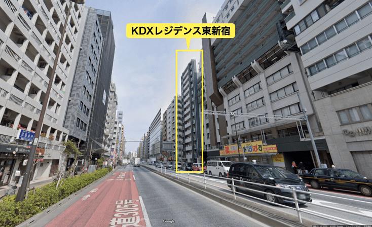 KDXレジデンス東新宿の周辺環境