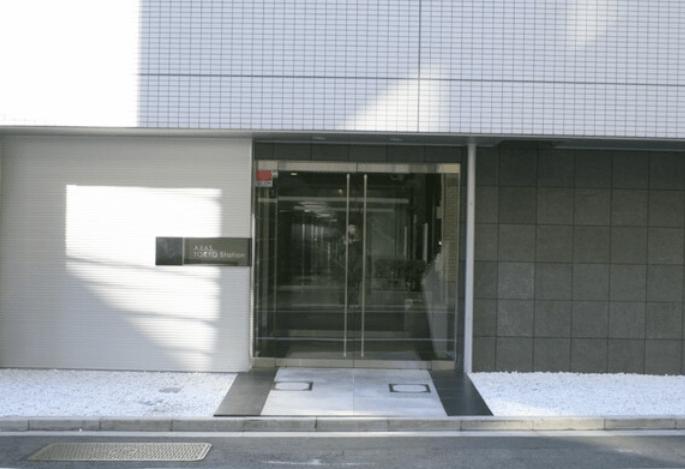 アクサス東京ステーションのエントランス