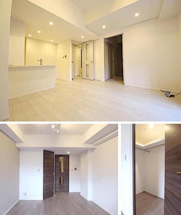 ザ・パークハビオ新宿の室内