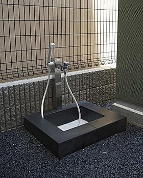 コンフォリア西早稲田のペット用足洗い場