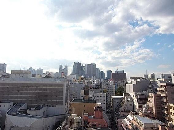 コンシェリア新宿イーストの眺望