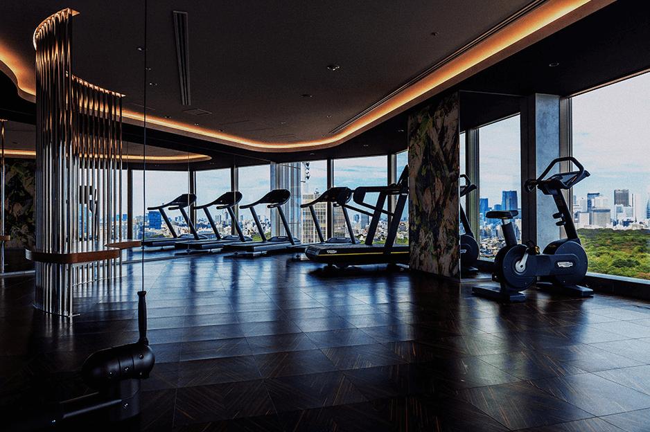 パークコート渋谷 ザ タワーのフィットネスルーム