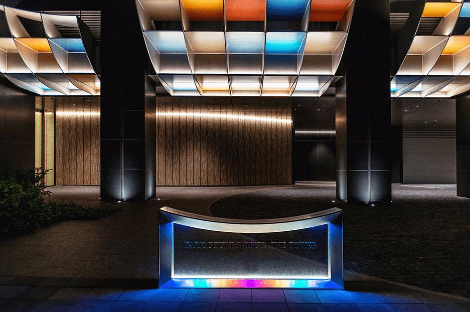 パークコート渋谷 ザ タワーのエントランス