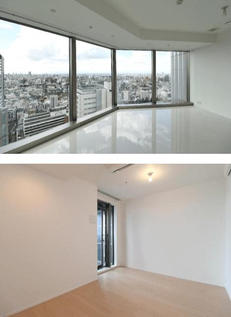 パークコート渋谷 ザ タワーの室内