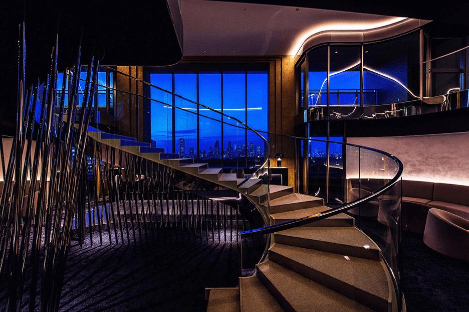 パークコート渋谷 ザ タワーのビューラウンジ