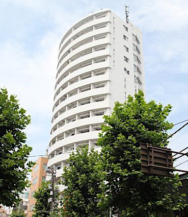 MFPR代々木タワーの外観