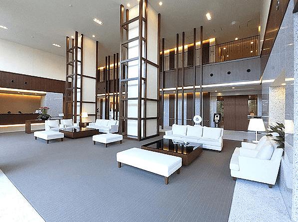 ザ・パークハウス西新宿タワー60のロビー