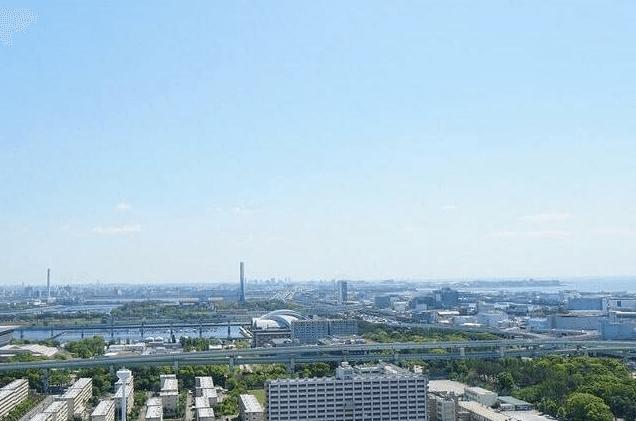 キャナルファーストタワーの眺望