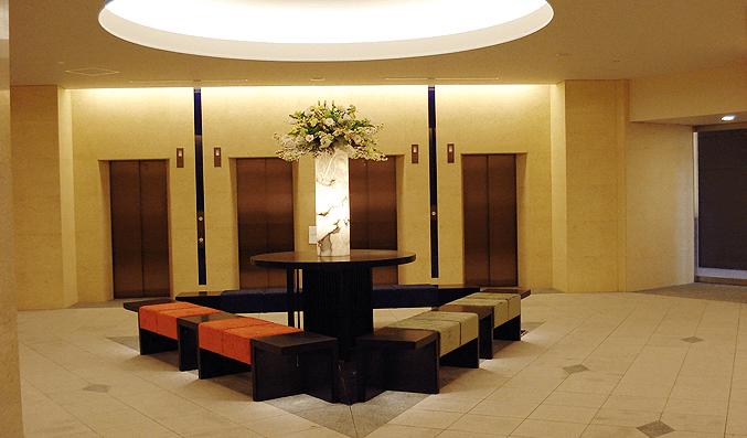 芝浦アイランドケープタワーのエレベーターホール