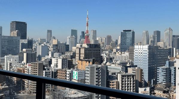グローバルフロントタワーの眺望