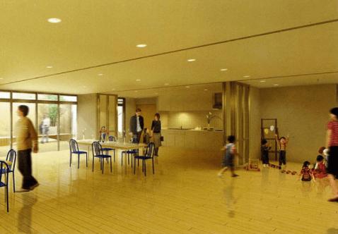 アップルタワー東京キャナルコートのパーティールーム