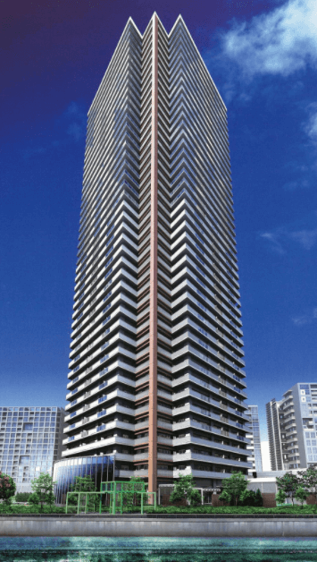 キャナルファーストタワーの外観
