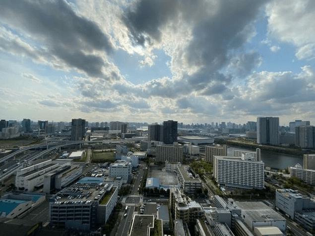 ザ・湾岸タワーレックスガーデンの眺望