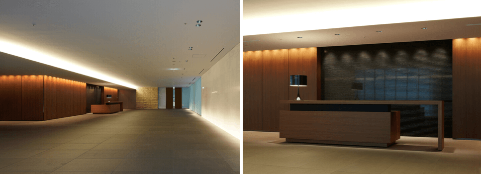 ザ・パークハウス新宿タワーのエントランスホール