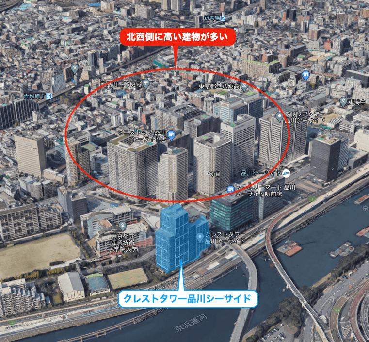 クレストタワー品川シーサイド 眺望