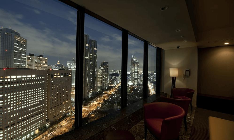 セントラルパークタワー・ラ・トゥール新宿のスカイラウンジ