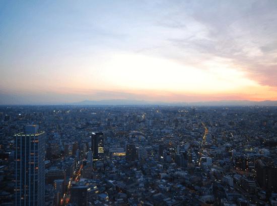 セントラルパークタワー・ラ・トゥール新宿の眺望