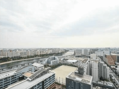 プライムパークス品川シーサイド ザ・タワーの眺望