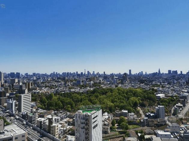 エアライズタワーの眺望