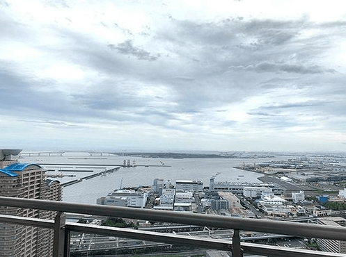Wコンフォートタワーズの眺望