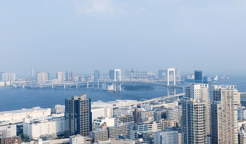 カテリーナ三田タワースイートの眺望