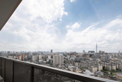ライオンズタワー大島の眺望