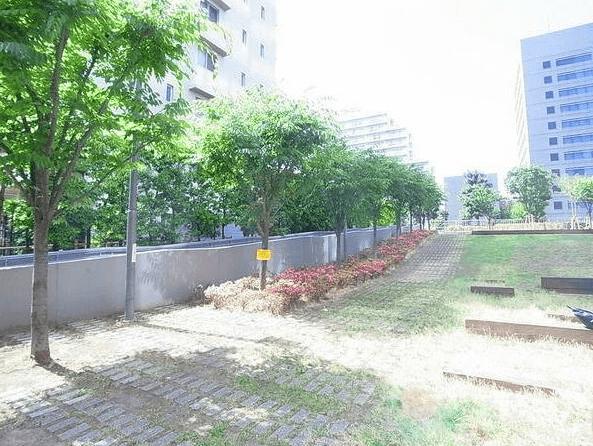 D'グラフォート清澄白河スパークリングタワーのグリーンエアガーデン