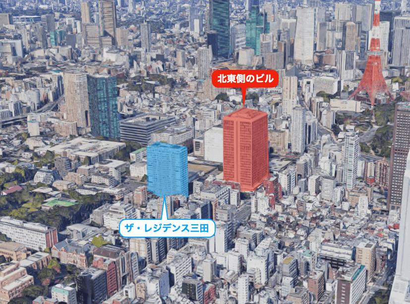ザ・レジデンス三田の眺望