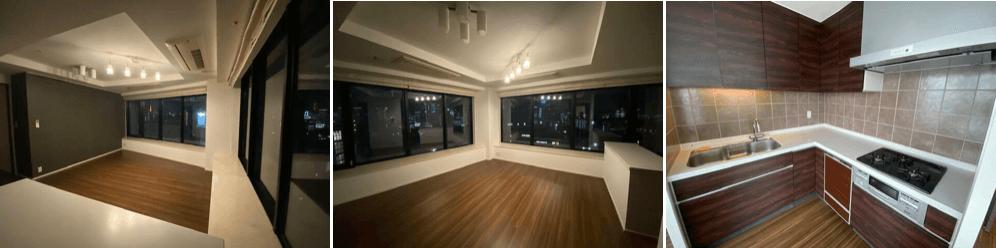 ザ・ヒルトップタワー高輪台の室内