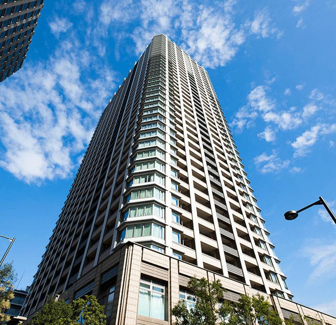 パークシティ大崎ザ タワーの外観