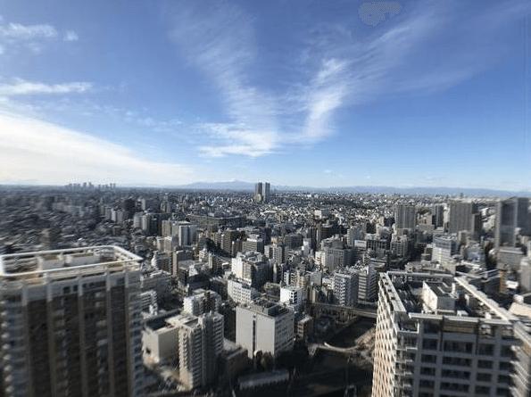 パークタワーグランスカイの眺望
