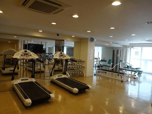 神楽坂アインスタワーのフィットネスルーム