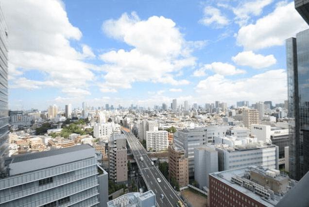 ライオンズタワー目黒川の眺望