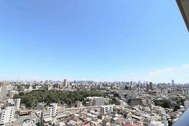 池袋パークタワーの眺望