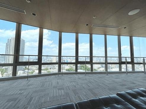 ドレッセ目黒インプレスタワーのビューラウンジ