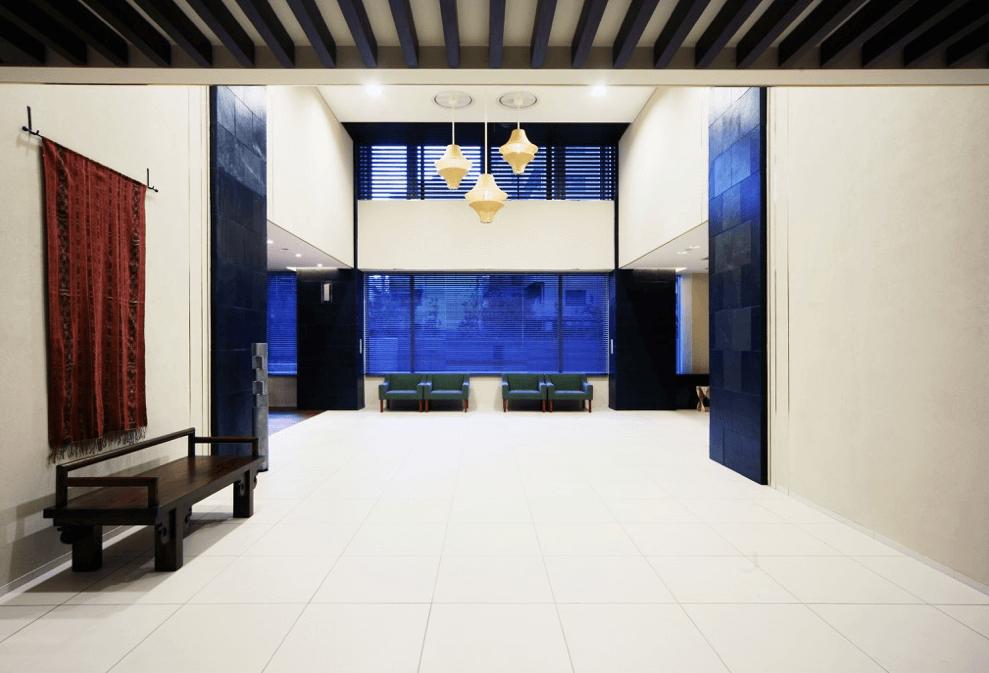 ブリリアタワー大崎のエントランスホール