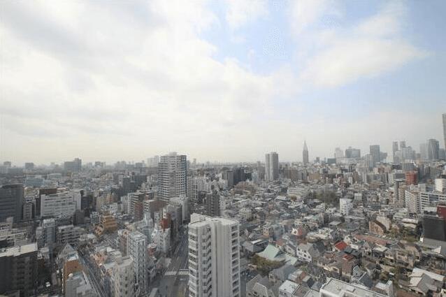 タワーレジデンス四谷の眺望